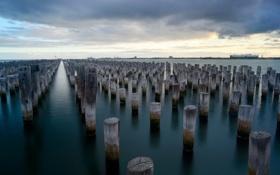 Обои Melbourne, Australia, princess pier
