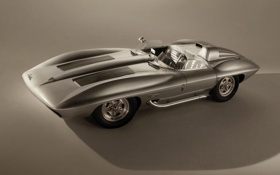 Обои Corvette, Stingray Racer, Concept, Legends