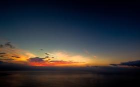 Обои море, небо, вода, океан, пейзажи, вечер, красивые обои