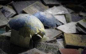 Картинка обломки, Чернобыль, Припять, Украина, Ukraine, Chernobyl, Pripyat