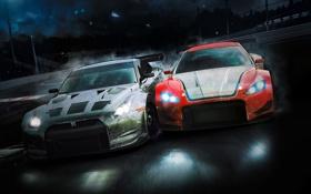 Обои гонка, Maserati, Nissan