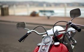 Обои фон, улица, мотоцикл