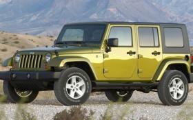 Обои wrangler, unlimited, Jeep