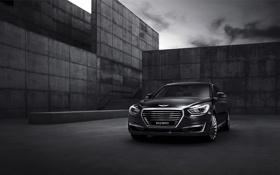 Картинка хундай, Hyundai, генезис, Genesis