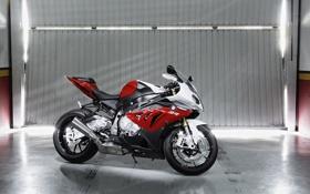 Картинка bmw, бмв, мото, гараж, sportbike, sport s1000 rr