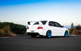 Обои Desktop, Mitsubishi, Lancer, Evolution, Автомобиль, Beautiful, Style