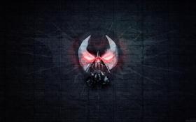 Картинка batman, movie, dak fon, evolution of bane