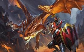 Картинка Игры, game, Dota 2, Dota, prodota, dragon knight