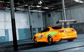Обои тойота, авто фото, супра, тачки, авто обои, toyota, MC Customs Fast and the Furious Toyota ...