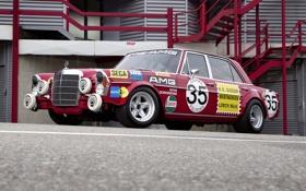 Картинка Mercedes-Benz, Авто, Трасса, Трек, Боксы, Пит-лейн, Мерседес-Бенц