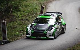 Картинка Ford, Дорога, Спорт, Машина, Гонка, Асфальт, WRC