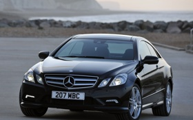 Картинка машины, mercedes-benz, coupe, amg, e500, sports