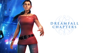 Картинка dreamer, Red Thread Games, Dreamfall Chapters, zoe castillo