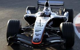 Обои formula1, montoya, mclaren-mersedes, 2005
