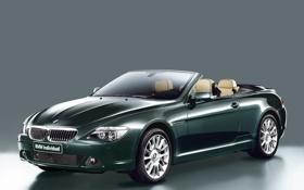 Обои angle, front, bmw 650i, coupe