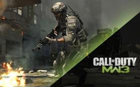 Картинка Call of Duty, Modern Warfare 3, Mw 3, Cod, Солдат США