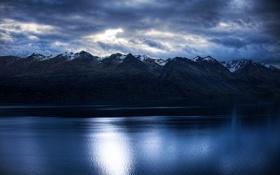 Обои вода, горы, фото, обои, пейзажи, картинки, вид