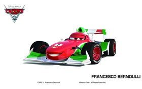 Картинка pixar, машинки, тачки 2, cars 2, francesco bernoulli