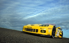 Обои Corvette, Racing Next Generation, C6R, Chevrolet