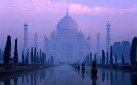 Обои Agra, Yamuna, Taj Mahal, River, India