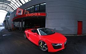 Картинка car, машина, audi r8, tuning, sport wheels, 3000x2038
