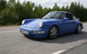 Обои номер, 964, хороший, classic Porsche