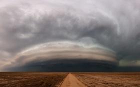 Обои шторм, природа, стихия, буря
