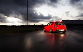 Картинка red, Mazda, speed