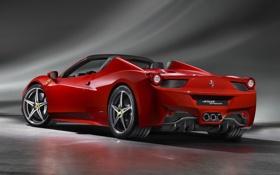 Картинка тачка, Ferrari, суперкар, италия, 458 Spider