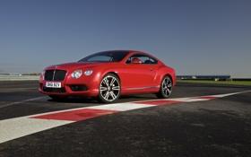 Картинка машина, небо, 2012 Bentley Continental GT V8