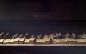 Обои музыка, пианино, Silent Keys