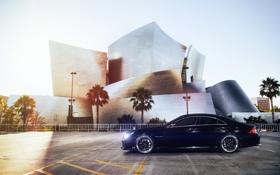 Картинка car, черный, тюнинг, мерседес, AMG, tuning, автообои