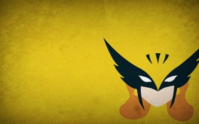 Обои минимализм, blo0p, Hawkman