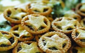 Обои звезда, еда, печенье, десерт, сладкое