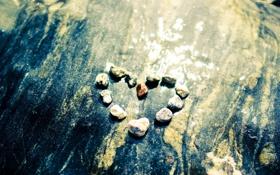 Обои любовь, эмоции, сердце, весна