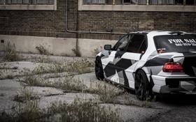 Обои BMW, Тюнинг, БМВ, winter, Alpina, E38, 740il