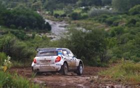 Картинка Авто, Белый, Спорт, Поворот, Гонка, Rally, Ралли