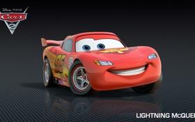 Обои мультфильм, тачки, pixar, disney, mcqueen