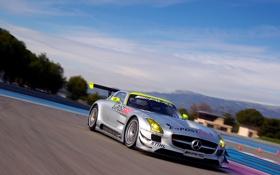 Обои Mercedes-Benz, AMG, SLS, GT3
