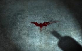 Обои кровь, тень, бетмэн