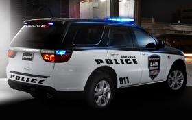 Обои полиция, Dodge, додж, police, дюранго, Durango
