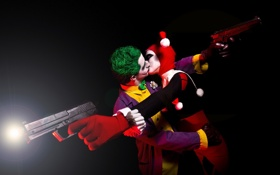 Обои фон, пистолеты, Nightmare kiss