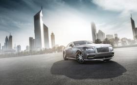 Обои Rolls-Royce, 2014, роллс-ройс, Wraith, Ares Design