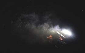 Картинка свет, ночь, дым, smoke, багги, offroad, baggy