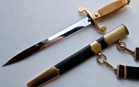 Обои карабин, ножны, кортик