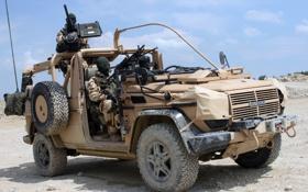 Обои джип, внедорожник, солдаты, армейский, пулемёты, panhard
