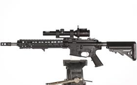 Обои оружие, автомат, штурмовая винтовка, тиски