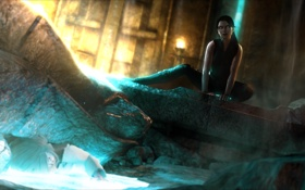 Обои underworld, Tomb Raider: Underworld, Jacqueline Natla, doppelganger, Natla, Doppel