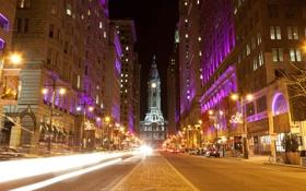 Картинка city, город, USA, США, Филадельфия, Пенсильвания, Pennsylvania