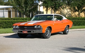 Обои Chevrolet, автомобиль, шевроле, Chevy, Nova, Chevelle, чеви